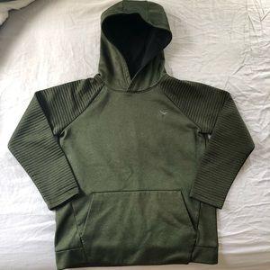 Children's green hoodie
